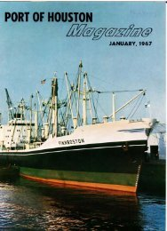 JANUARY, 1967 - Port of Houston Archives Search