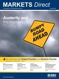 MARKETS Direct Austerity and - RBS Markets UK