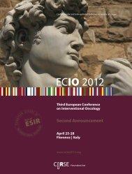 April 25-28 Florence | Italy - ECIO