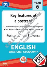 30106 Postcards from Provence - Key features of a postcard