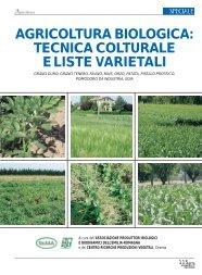 agricoltura biologica: tecnica colturale e liste ... - Ermes Agricoltura