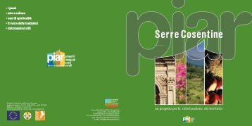 brochure PIAR - Visita il sito web