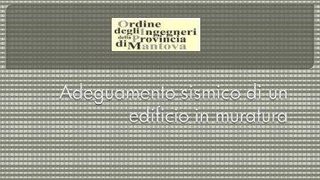 Modo Frequenza Periodo Acc. - Ordine degli Ingegneri della ...