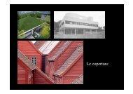 Le coperture - Architettura