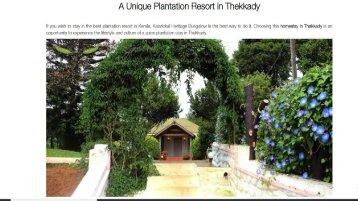 resorts-in-thekkady