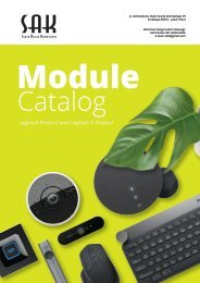 SAK - Module Catalog Logitech Product & Logitech G Product (DEMO)