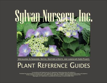 Trees - Sylvan Nursery, Inc.