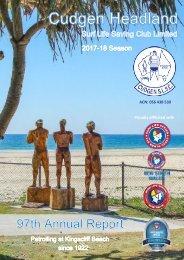 Cudgen Headland SLSC - 2017-18 Annual Report.