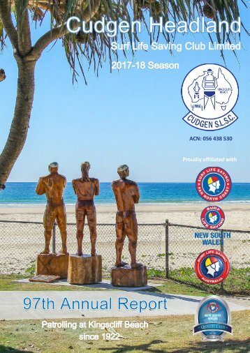 Cudgen Headland SLSC - 2017-18 Annual Report.