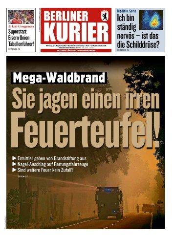 Berliner Kurier 27.08.2018
