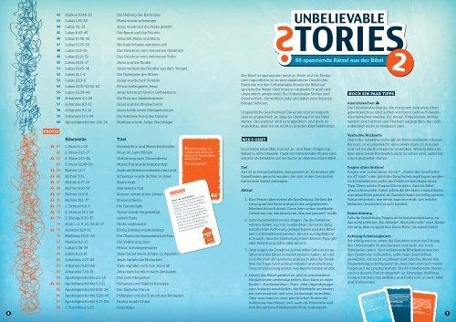 Leseprobe_Unbelievable Stories 2