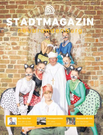 Stadmagazin September 2018