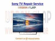 Sony TV Repair Service