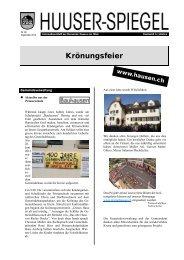September 2012 - Gemeinde Hausen am Albis