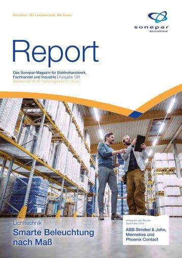 Report September 2018