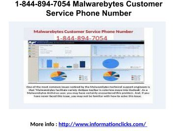 1-844-894-7054 Malwarebytes Customer Service Phone Number