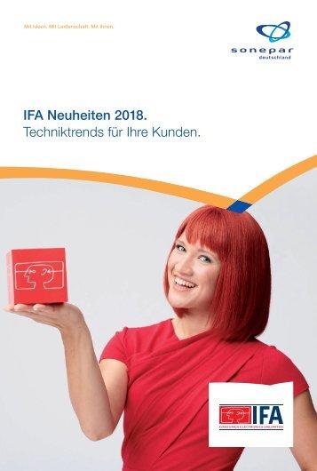 IFA 2018, Techniktrends, Sonepar