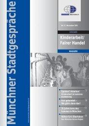 Fairer Handel - Umweltinstitut München e.V.