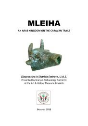 Mleiha - An Arab Kingdom on the Caravan Trails