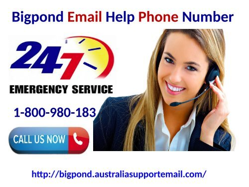 Dial Bigpond Email Help Phone Number 1-800-980-183 To Configure Account