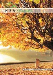 Ausgabe 3 September 2010 15. Jahrgang - HEV-OW
