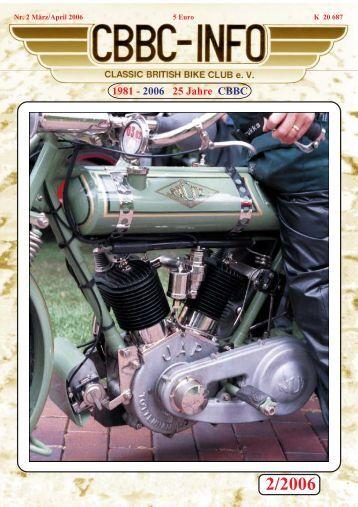 1981 - 2006 25 Jahre CBBC - CBBC - Classic British Bike Club