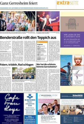 Benderstraßenfest -30.08.2018-