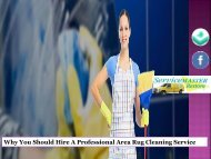 Why You Should Hire A Professional Area Rug Cleaning Service