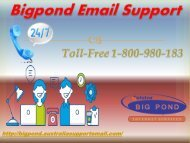 Regain Suspended Account | Bigpond Email Support 1-800-980-183