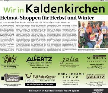 Wir in Kaldenkirchen -30.08.2018-