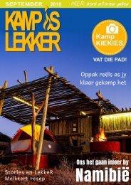 Kamp is Lekker  September 2018 Tydskrif