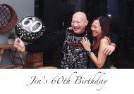 Jin's Birthday (Photobook)