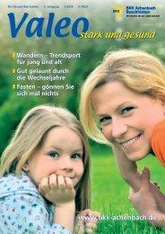 Wandern – Trendsport Für Jung Und Alt - BKK Achenbach ...