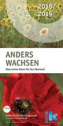 Anders wachsen 2018/2019