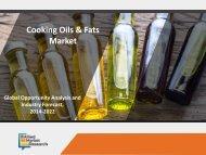 Cooking Oils & Fats Market