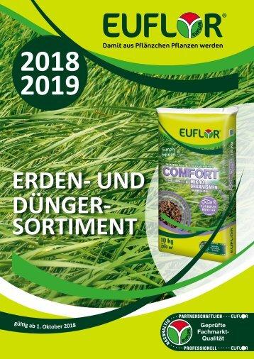 EUFLOR Sortimentskatalog 2018 / 2019 - DE
