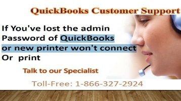 QuickBooks Customer Support 1-866-327-2924