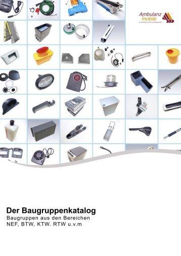 Der Baugruppenkatalog - Ambulanz Mobile