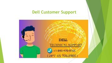dell customer support number +1 845 470 9165