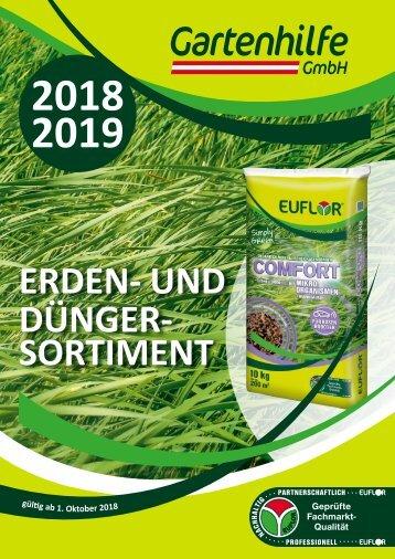 EUFLOR Sortimentskatalog 2018 / 2019 - AT