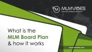 What is the MLM Board Plan and How it Works