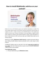 How to install Bitdefender antivirus on your android
