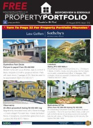 Bedfordview & Edenvale - 31 August 2018 - Issue 512 (36 Pages)