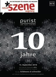 Neue Szene Augsburg 2018-09