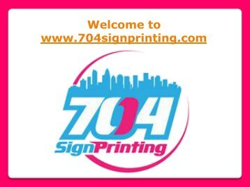 Flyer Printing in Charlotte NC