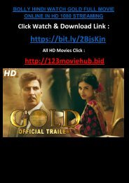 LIVE-HINDI WATCH GOLD FULL MOVIE ONLINE TOP trending 2018 T-A-M-I-L