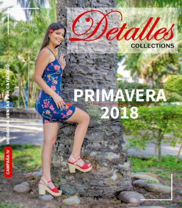 Detalles Collections PRIMAVERA 2018