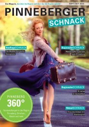 PINNEBERGER SCHNACK Sep/Okt 2018