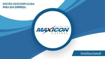 Institucional Maxicon - Manufatura