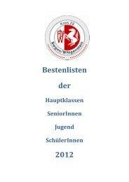 BESTENLISTE - FLVW-Kreis Siegen-Wittgenstein